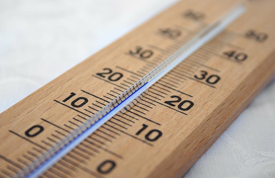 温度・湿度に気を配る